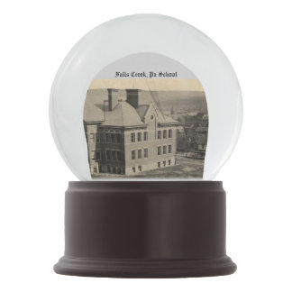 Fall Creek, Pa School Snow Globe