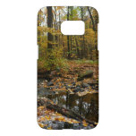 Fall Creek with Reflection at Laurel Hill Park Samsung Galaxy S7 Case