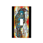 Fall Crow Light Switch Cover