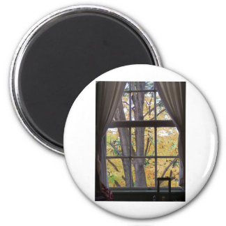 Fall Day at the tavern Refrigerator Magnet