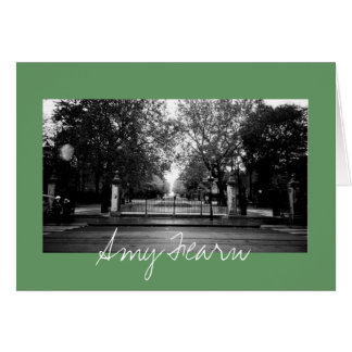 Fall Day in the Park Card