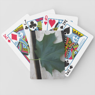 Fall Days Bicycle Playing Cards