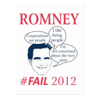 Fall de Romney Postal