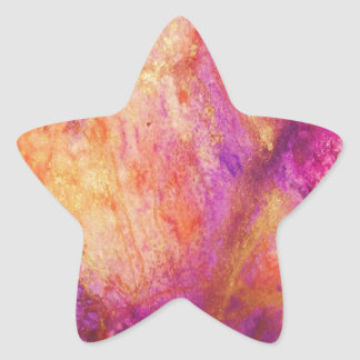 Fall Decay Star Sticker