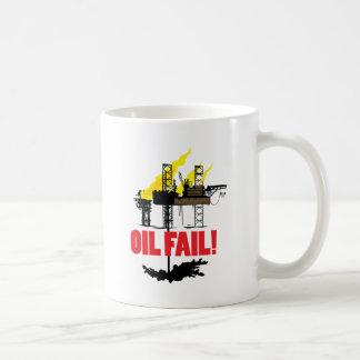 Fall del aceite taza