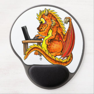 Fall Dragon Gel Mouse Pad