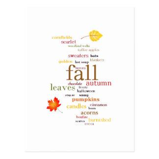 Fall Dreams Postcard