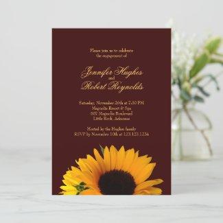 Fall Engagement Invitation