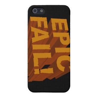 ¡Fall épico! 3D caja de la mota del iPhone 4 iPhone 5 Protector