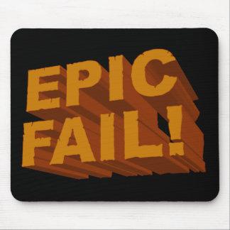 ¡Fall épico! 3D Mousepad Alfombrilla De Ratones