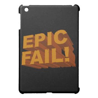 ¡Fall épico! caja de la mota del iPad 3D
