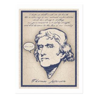 Fall épico de Jefferson Tarjetas Postales