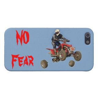 """FALL épico de """"NINGÚN miedo"""" iPhone 5 Carcasas"""