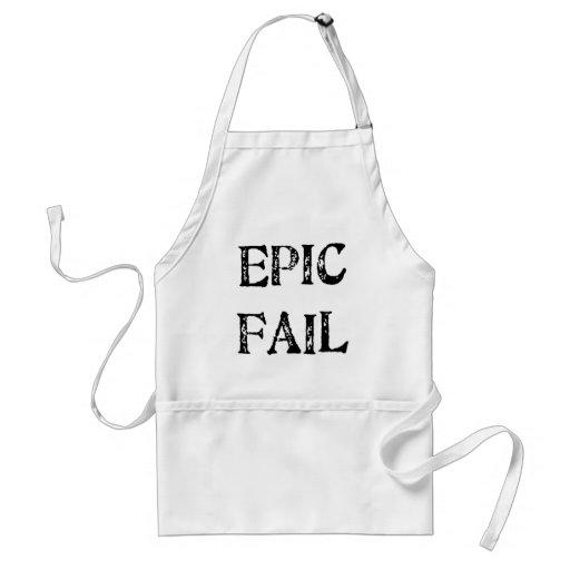 Fall épico delantales