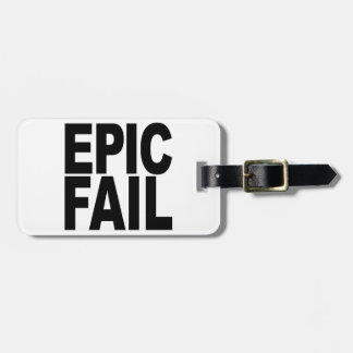 Fall épico etiquetas de maletas