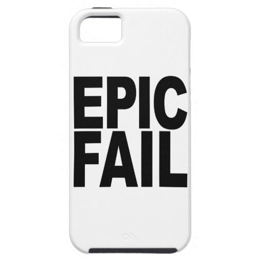 Fall épico funda para iPhone 5 tough