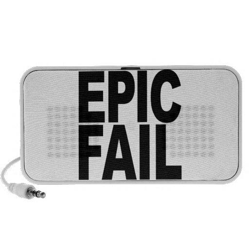 Fall épico iPod altavoces