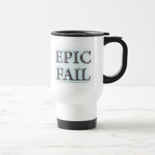 Fall épico taza de viaje de acero inoxidable