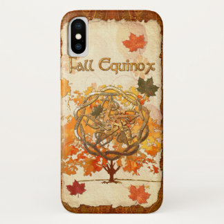 Fall Equinox Pagan Wiccan iPhone X Case