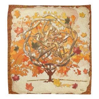 Fall Equinox Pagan Wiccan Kerchiefs