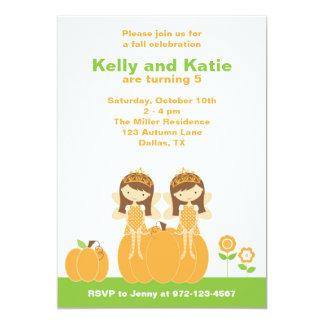 Fall Fairy Princess Invitations