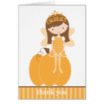 Fall Fairy Princess Note Cards Card