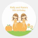 Fall Fairy Princess Stickers