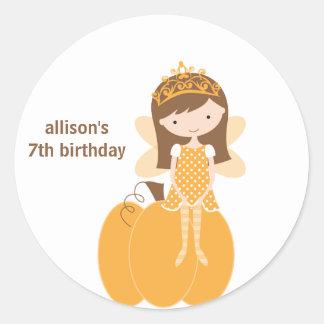 Fall Fairy Princess Stickers Stickers