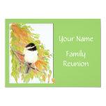 Fall, Family Reunion Invite, Nature, Bird Card