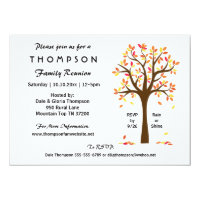 Fall Family Reunion, Party or Event Invitation