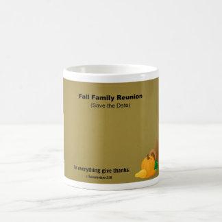 Fall Family Reunion: Save the Date. Coffee Mugs