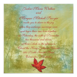 Fall Fantasy Collection Personalized Announcements