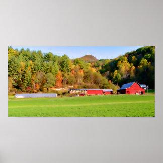 Fall Farm N.C. Print