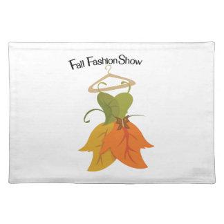 Fall Fashion Show Placemat