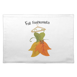 Fall Fashionista Placemats