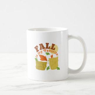 Fall Favorite Classic White Coffee Mug