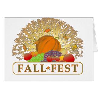 Fall Fest Card