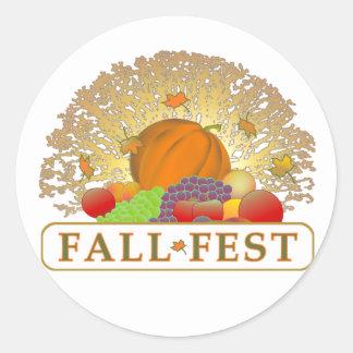 Fall Fest Sticker
