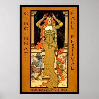 Fall Festival, 1903 Poster