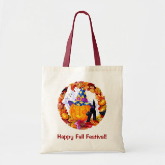 Fall Festival Budget Tote Bag