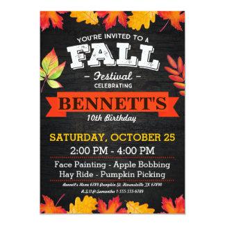 Fall Festival Invitations Amp Announcements Zazzle