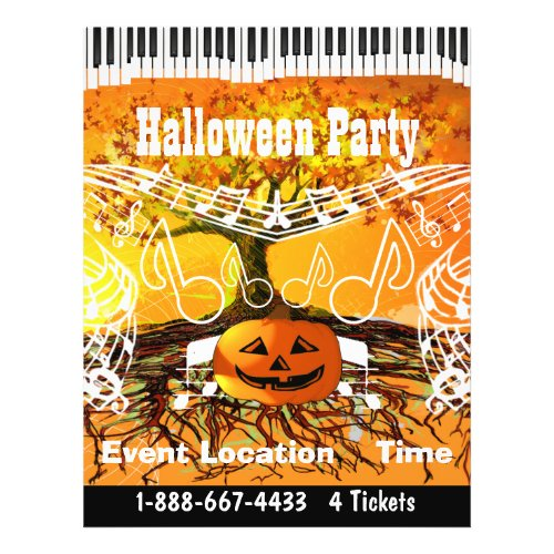 Fall Festival Halloween Event or Fall Event Flyer flyer
