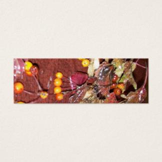 Fall Festival Mini Business Card