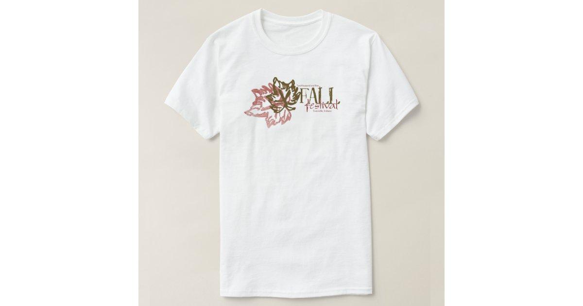 Fall festival t shirt zazzle for T shirt design festival