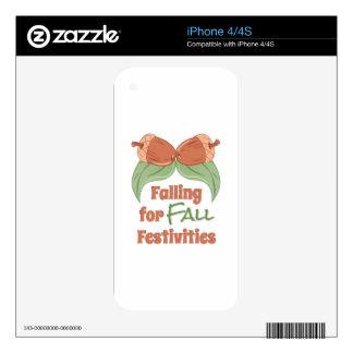 Fall Festivities iPhone 4S Skin