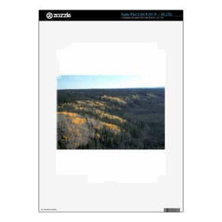 FALL FIELDS SCENIC LANDSCAPE iPad 3 DECALS