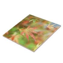 Fall Filigree Decorative Tile / Trivet