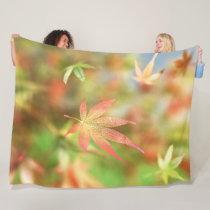 Fall Filigree Fleece Blanket