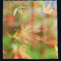 Fall Filigree Shower Curtain