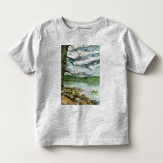 Fall Fishing - watercolor T Shirt